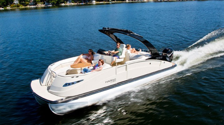 Photo courtesy Harrisboats.com