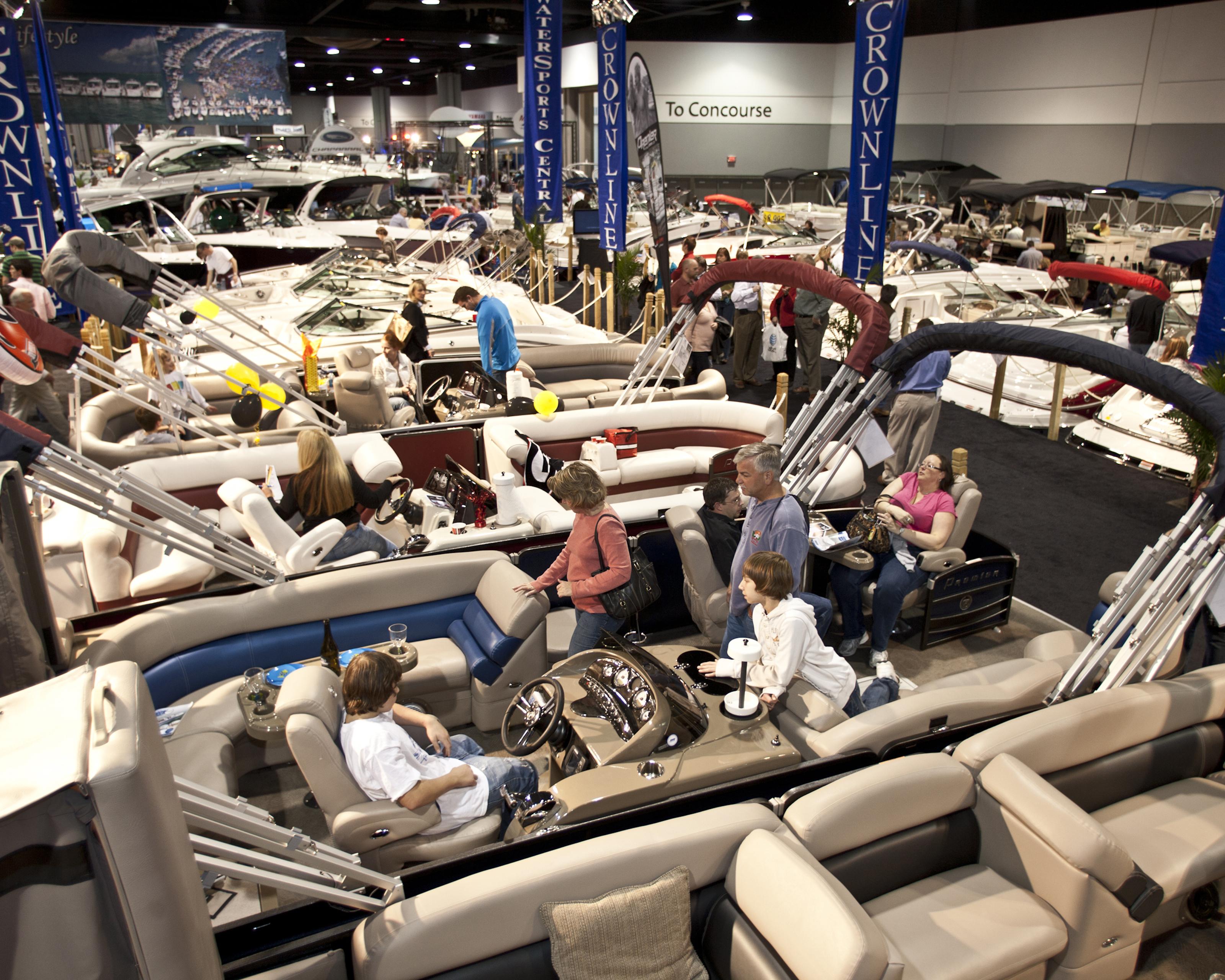 Atlanta Boat Show Is Back Jan At World Congress Center - Car show world congress center atlanta