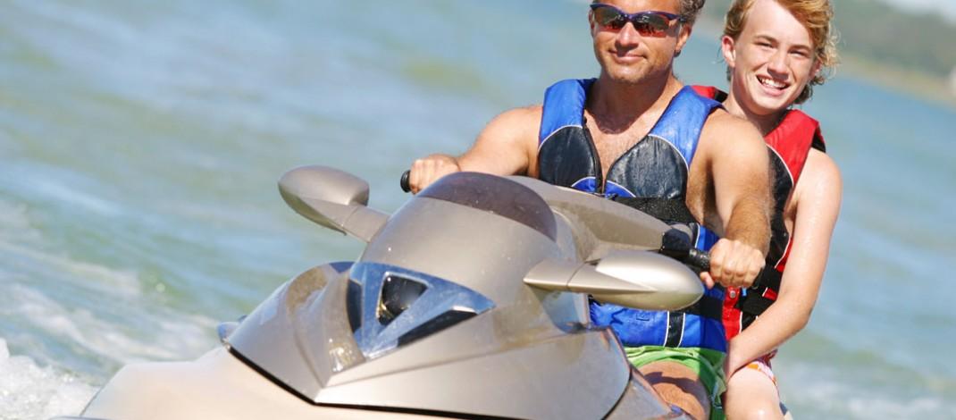 Catching waves: Jet Skis provide flexible fun