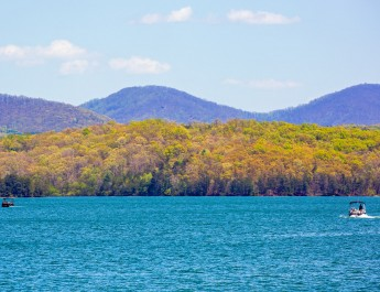 Looking Across Blue Ridge Lake-Photo by Bill Vanderford
